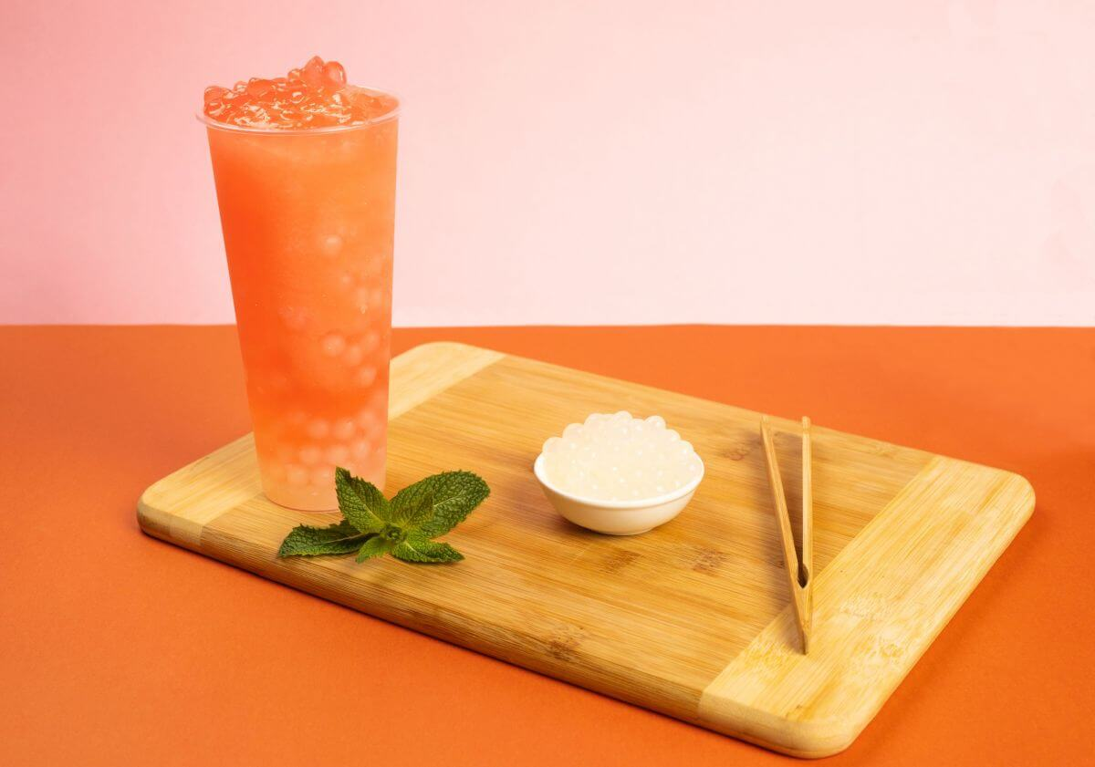 Fruit Tea with Toppings Recipes by Bubble Tea Warehouse