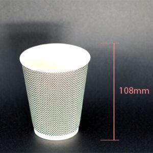 CC 12oz White DW Bubble Tea Cup Supplier