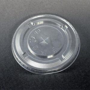 PET F92 Flat Lid For Bubble Tea Clear Cup - Bubble Tea Supplier
