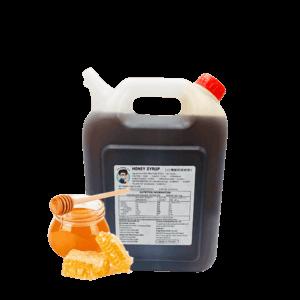 6kg Bottle of Bubble Tea Taiwan Honey Syrup by Bubble Tea Warehouse