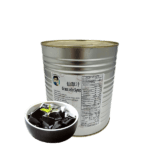 3 kg can of Bubble Tea Grass Jelly Syrup Toppings