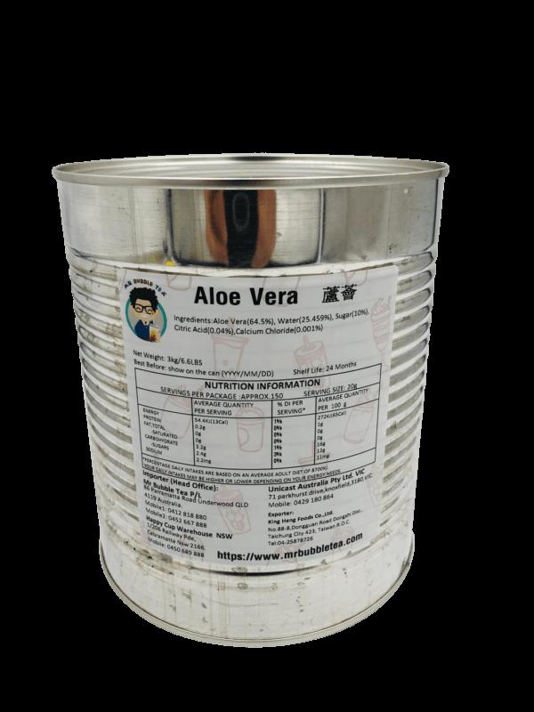 Aloe Vera Toppings Bubble Tea Ingredients