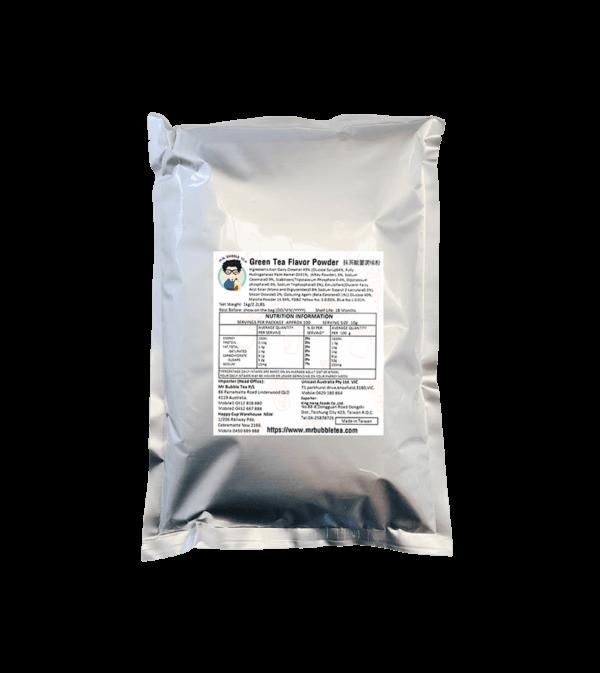 1kg Bag Green Tea Flavor Powder