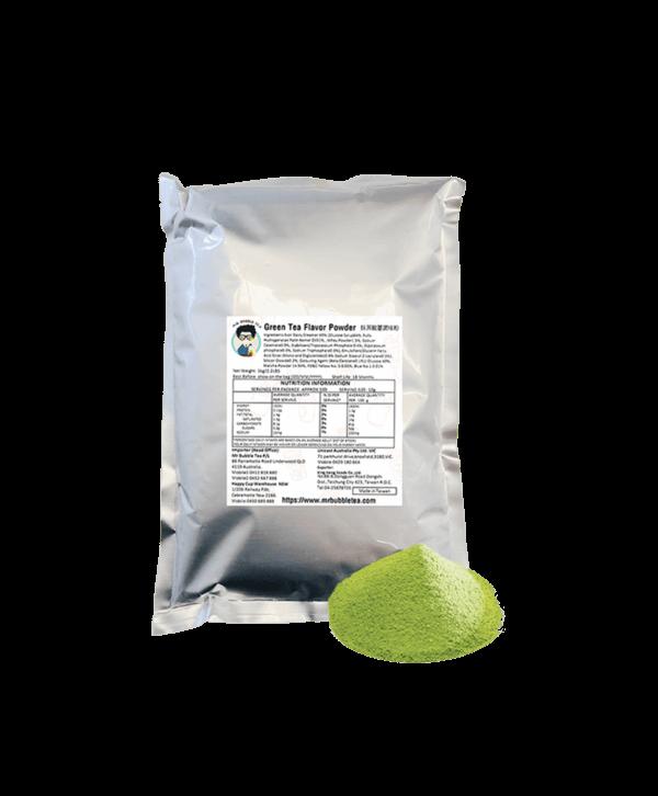 Green Tea Milk Powder - Bubble Tea Powder Supplies