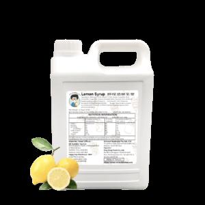 3.2 kg bottle of Bubble Tea Lemon Syrup Ingredient Australia