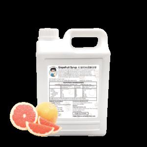 Grapefruit Syrup - Bubble Tea Syrup Supplies