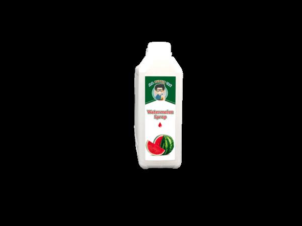 a white bottle of Watermelon Syrup for Australia's Bubble Tea