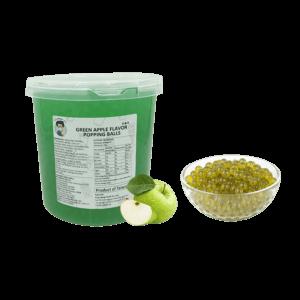 3.2kg Green Apple Popping Ball - Bubble Tea Toppings