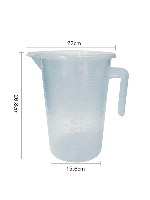 5 Liter Plastic Measuring Cup from Bubble Tea Warehouse